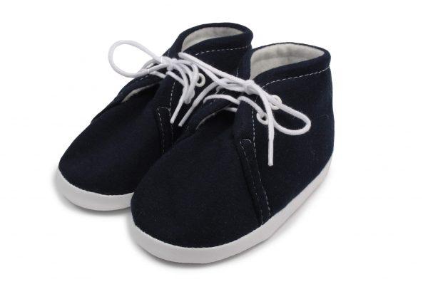 tamsiai mėlyni batukai