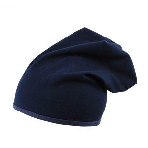 mamajum dviguba kepure tamsiai melyna